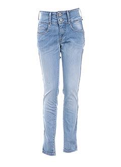 Jeans coupe slim bleu TIFFOSI pour femme