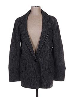 Veste casual gris CUSTO pour femme