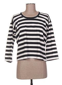 T-shirt manches longues noir GOLDEN GOOSE DELUXE BRAND pour femme