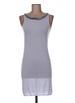 Robe pull bleu ALLUDE pour femme