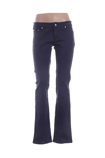 Jeans coupe droite bleu ARMAND VENTILO pour femme