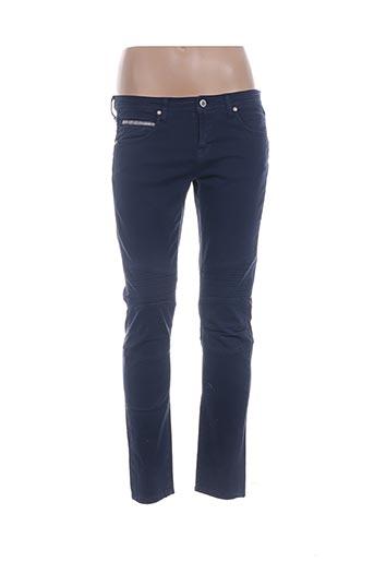Jeans coupe slim bleu PAUL & JOE pour femme