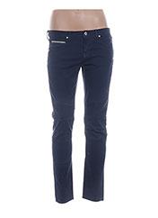 Jeans coupe slim bleu PAUL & JOE pour femme seconde vue