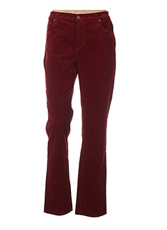 Pantalon casual rouge HOLIDAY pour femme