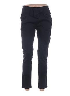 Pantalon 7/8 noir CRAZY LOVER pour femme