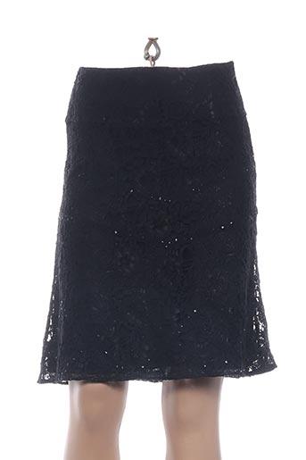 Jupe mi-longue noir ARMAND VENTILO pour femme