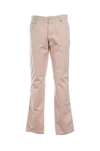 Pantalon casual beige BILLTORNADE pour homme