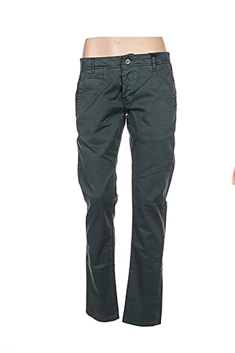 Pantalon casual vert BIAGGIO pour femme