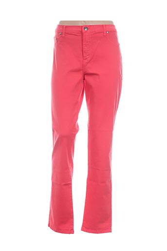 Pantalon casual orange CRN-F3 pour femme