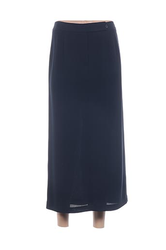 Jupe longue bleu EX-AEQUO pour femme