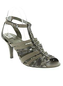 Sandales/Nu pieds beige BOCAGE pour femme