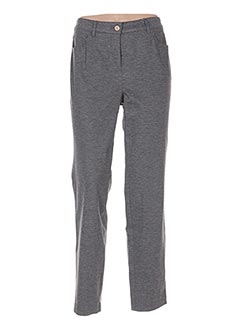 Pantalon casual gris BASLER pour femme