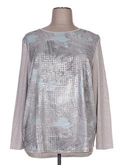 T-shirt manches longues gris BASLER pour femme