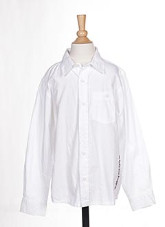 Chemise manches courtes blanc NAME IT pour garçon
