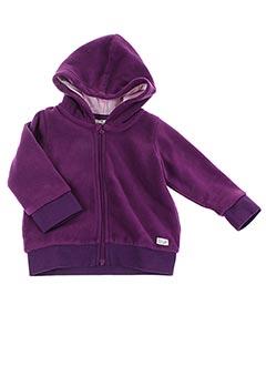 Veste casual violet TOM TAILOR pour fille