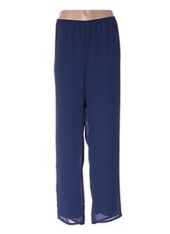 Pantalon chic bleu JEAN DELFIN pour femme