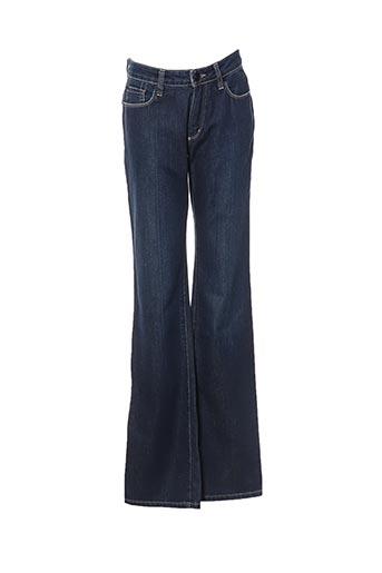 Jeans coupe droite bleu ERNEST pour femme