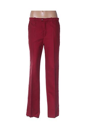 Pantalon casual rouge CIMALP pour femme