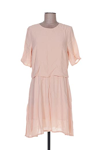 Robe mi-longue rose ANDY & LUCY pour femme