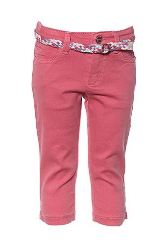 Pantalon casual rose MAYORAL pour garçon