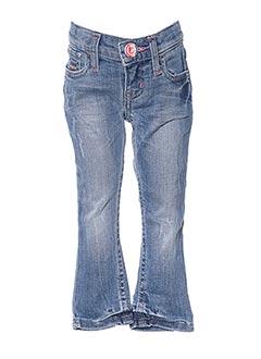 Jeans coupe slim bleu JN-JOY pour fille