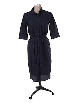 Robe mi-longue bleu FRIDAY pour femme
