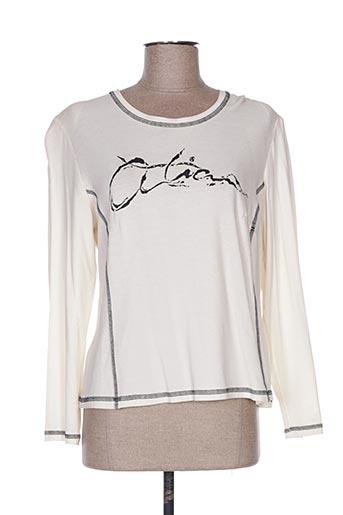 T-shirt manches longues beige ATIAN pour femme