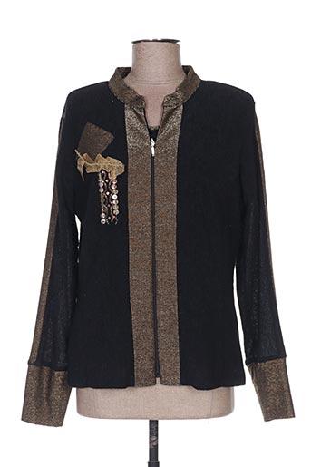 Top/robe noir ATIAN pour femme