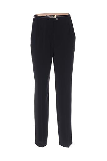 Pantalon chic noir FRANKENWÄLDER pour femme