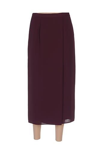 Jupe longue rouge FOSBY pour femme