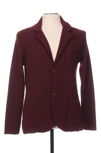 Veste casual rouge CLOSE-UP pour homme
