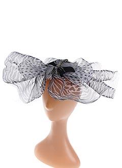 Chapeau noir JULIE PERLOUZE pour femme
