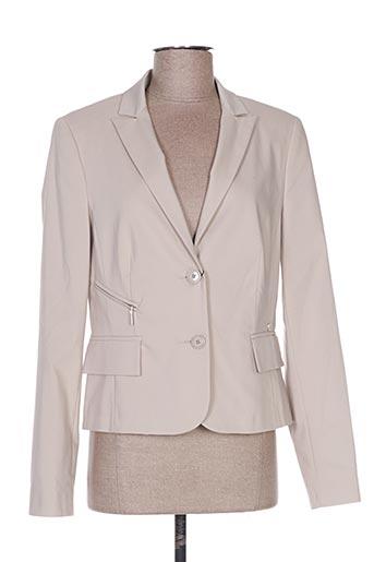 Veste chic / Blazer beige DIAMBRE pour femme