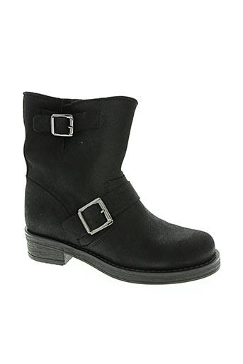 Bottines/Boots noir ALFA pour femme
