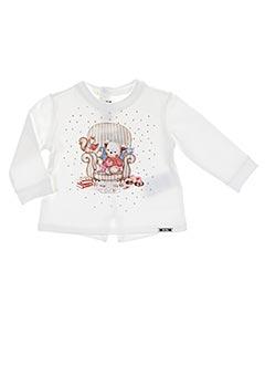 Sweat-shirt blanc MAYORAL pour fille