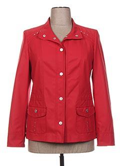 Veste chic / Blazer rouge KIRSTEN pour femme