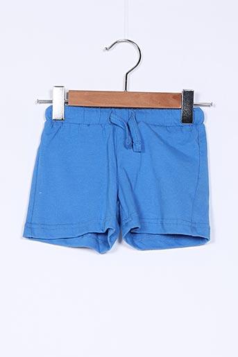 Short bleu THEODORE pour garçon