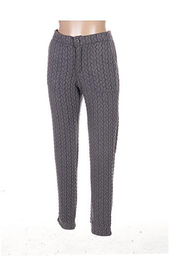 Pantalon casual gris BRIGITTE BARDOT pour femme