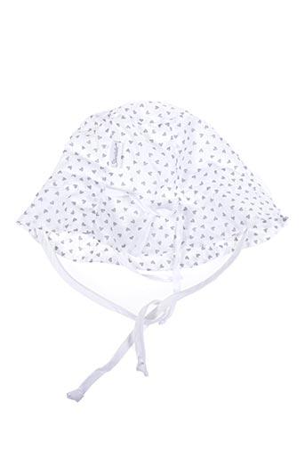Chapeau blanc STERNTALER pour fille