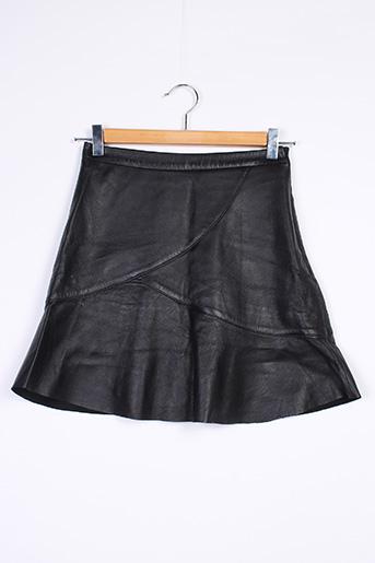 Jupe courte noir BERENICE pour femme