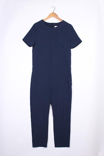 Combi-pantalon bleu ANNA STUDIO pour femme