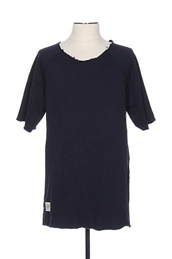 Sweat-shirt bleu TWO ANGLE pour homme