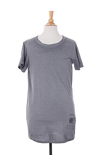 T-shirt manches courtes gris TEDDY SMITH pour garçon