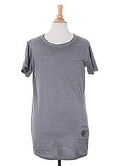 T-shirt manches courtes gris TEDDY SMITH pour garçon seconde vue