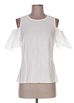 Top blanc EIGHT pour femme