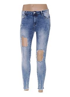 Pantalon casual bleu GOLDENIM pour femme