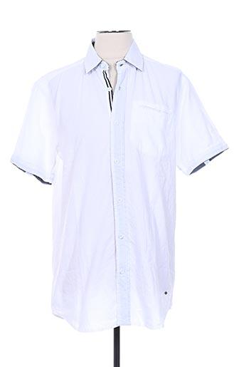 Chemise manches courtes blanc LEE COOPER pour homme