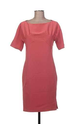 Robe courte rose BESSINI pour femme