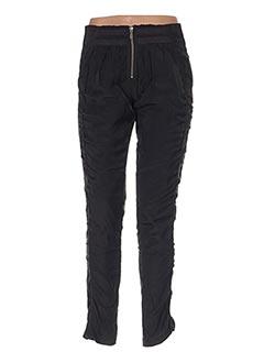 Pantalon casual noir ET COMPAGNIE pour femme