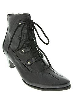 Bottines/Boots noir GEO-REINO pour fille